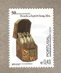 Sellos de Europa - Portugal -  50 Años de la Fundación Ricardo do Espiritu Santo Silva