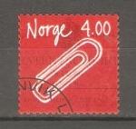 Stamps Europe - Norway -  INVENTOS  NORUEGOS.  CLIP  PARA  PAPEL  POR  JOHAN  VAALER.