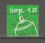 Stamps Europe - Norway -  INVENTOS  NORUEGOS.  ENVASE  DE  AEROSOL  POR  ERIK  ROTHEIM.