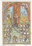 Stamps Spain -  Orfeo catalá -Mariscal (12)