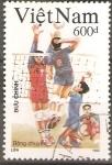 Sellos de Asia - Vietnam -  JUEGOS  OLÌMPICOS  BARCELONA  92.  VOLEIBOL.
