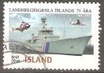 Stamps Iceland -  75th  ANIVERSARIO  DE  GUARDACOSTA
