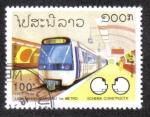 Sellos de Asia - Laos -  Metro