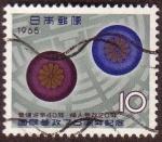 Stamps : Asia : Japan :  Dibujo
