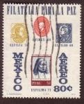 Stamps : America : Mexico :  Filatelia para la Paz