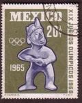 Stamps Mexico -  XIX Juegos Olímpicos 1968