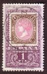 Stamps : Europe : Spain :  Centenario del sello dentado español