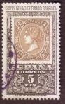 Stamps Spain -  Centenario del sello dentado español
