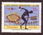 Stamps Panama -  XI Juegos Deportivo Centroamericanos y del Caribe