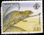 Sellos del Mundo : Africa : Seychelles : CAMALEON