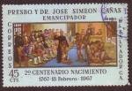 Stamps : America : El_Salvador :  2do. Centenario del Nacimiento de José Simeón Cañas