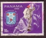 Stamps : America : Panama :  X Juegos Olímpicos de Invierno