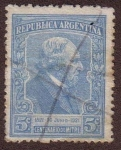 Stamps : America : Argentina :  Centenario de Bartolomé Mitre