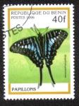 Sellos del Mundo : Africa : Benin : Mariposa
