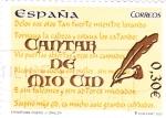 Stamps Spain -  Cantar del Mio Cid   (12)