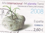 Stamps of the world : Spain :  Año Internacional del Planeta Tierra-2008 (12)