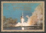Stamps United Arab Emirates -  Ajman - Historia del espacio
