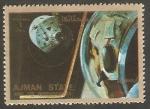 Stamps : Asia : United_Arab_Emirates :  Ajman - Historia del espacio