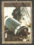 Sellos de Asia - Emiratos Árabes Unidos -  Ajman - Historia del espacio