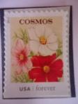 Sellos de America - Estados Unidos -  FLORES- Cosmos.
