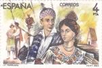 Sellos de Europa - España -  La Parranda (12)
