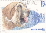 Sellos de Europa - España -  Perros- MASTIN ESPAÑOL (12)