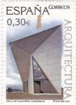 Sellos de Europa - España -  Capilla de Valleacerón- Almendralejos (12)