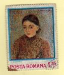 Stamps Romania -  Scott 2471. Retrato Jeanne.