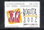 Sellos del Mundo : America : Colombia :  VII Juegos Suramericanos, Bogotá 2002