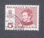Sellos de Europa - Groenlandia -  Reina Margarita
