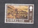 Sellos del Mundo : Europa : Gibraltar : Vista en los inicios del Siglo XIX
