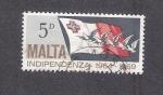 Sellos de Europa - Malta -  Quinto aniversario de la independencia