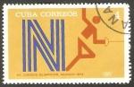 Sellos de America - Cuba -  Olimpiadas de Munich, esgrima