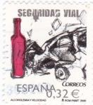 Sellos de Europa - España -  Seguridad Vial-Alcoholemia y Velocidad (12)