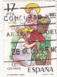 Sellos de Europa - España -  La vendimia  (12)