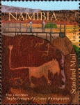 Stamps of the world : Namibia :  NAMIBIA -  Twyfelfontein or /Ui-//aes