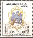 Stamps Colombia -  CENTENARIO DEL  GUN  CLUB,  BOGOTA.
