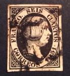 Stamps Europe - Spain -  Edifil 6