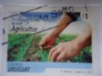 Stamps Uruguay -  Agricultor -Uruguay