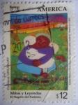 Stamps America - Uruguay -  Upaep-El Negrito del Pastoreo (Leyendas y Mitos del Paraguay)