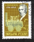 Sellos de Europa - Hungría -  G.Stephenson 1781-1848