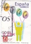 Stamps Spain -  Valores Cívicos- Lucha contra la Droga  (12)