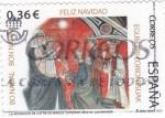 Stamps Spain -  La adoración de losm reyes magos (12)