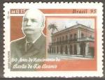 Stamps Brazil -  HOMBRES  FAMOSOS.  JOSÈ  DA  SILVA  PARANHOS,  BARÒN  DE  RÌO  BRANCO.