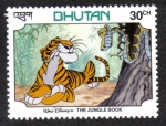 Stamps Bhutan -  The Gungle Book