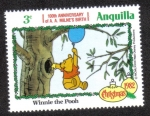 Stamps Anguila -  Winnie the Pooh