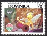 Sellos del Mundo : America : Dominica : Peter Pan