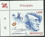 Stamps Monaco -  Wagner