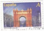 Sellos de Europa - España -  Arco del Triunfo de Barcelona (12)