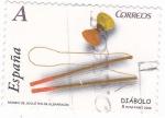 Stamps Spain -  Museo del juguete de Albarracín- Diábolo  (12)